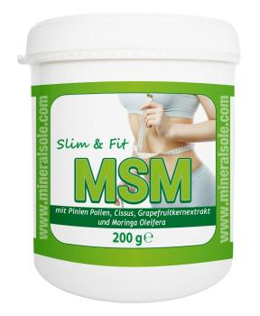 MSM Slim & Fit 200g Dose